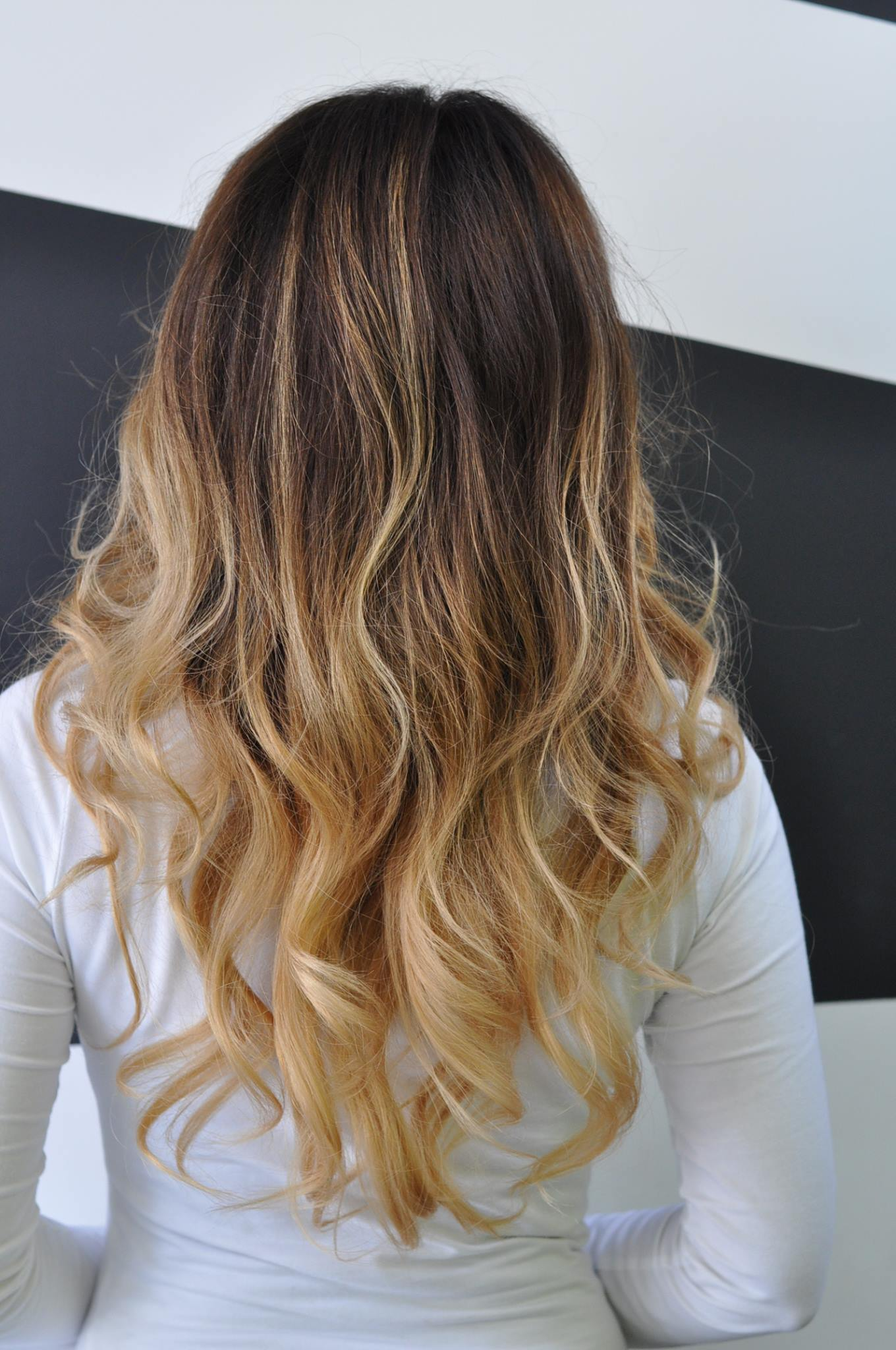 hair colouring ideas balayage