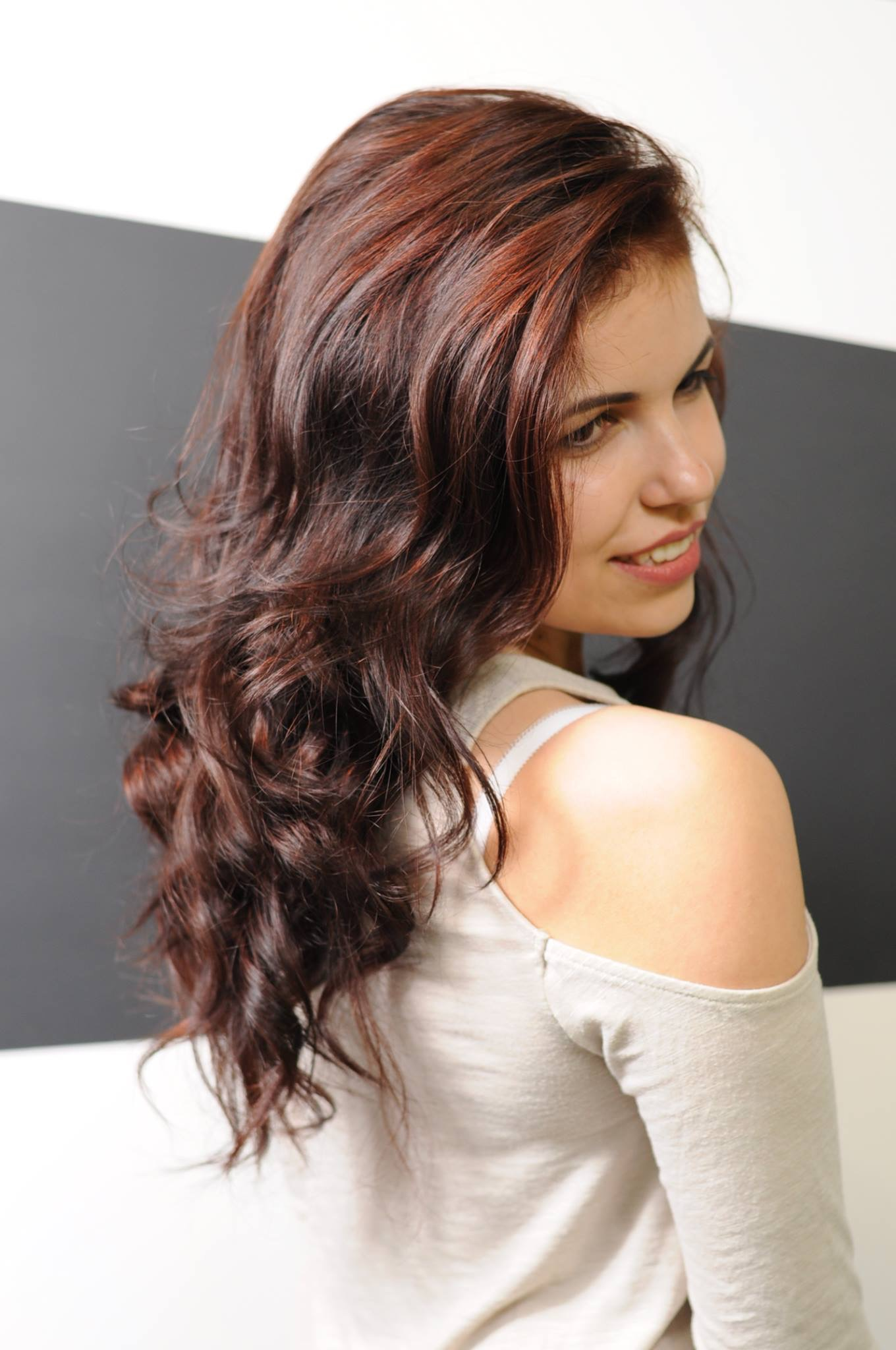 Hot chocolate brown hair crown