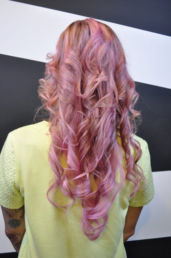 Pink Hair - After back