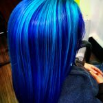 blue hair - represent for the owner's personality