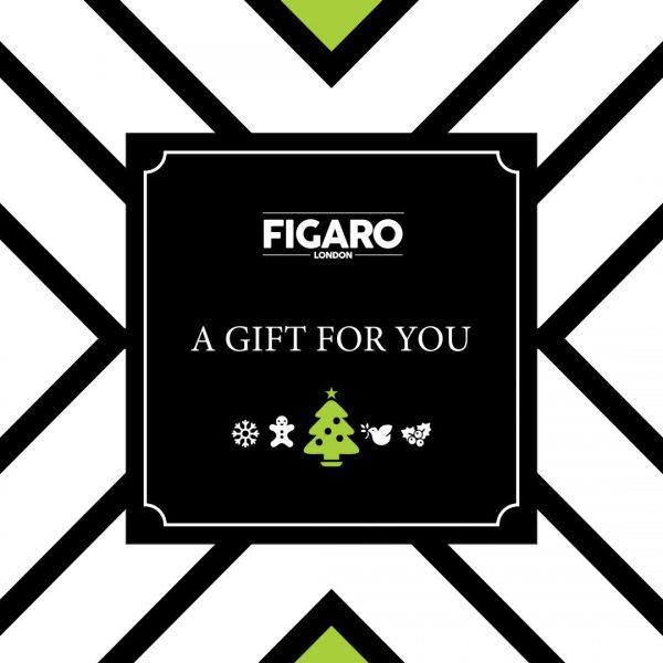 Figaro London Christmas Gift Card