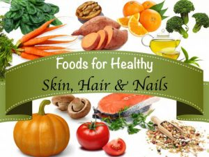 Foods to nourish our skin