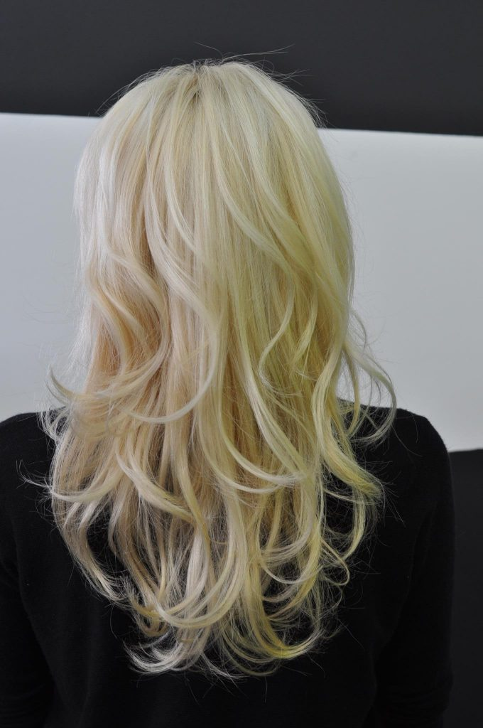 After the Olaplex stand-alone treatment