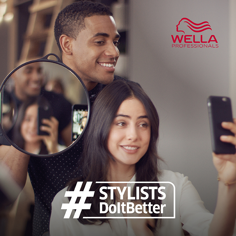 Share a selfie with your hairdresser and win!