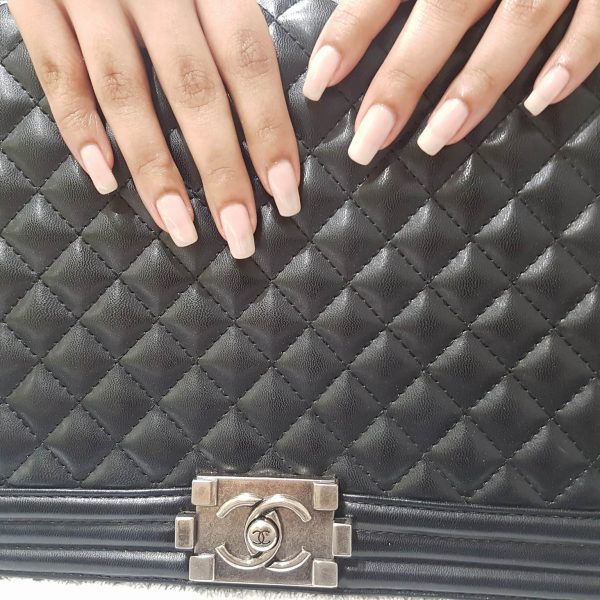 Shellac manicure by Tatiana