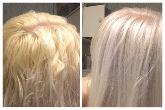 Toner - before, after