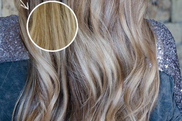 Toner before after