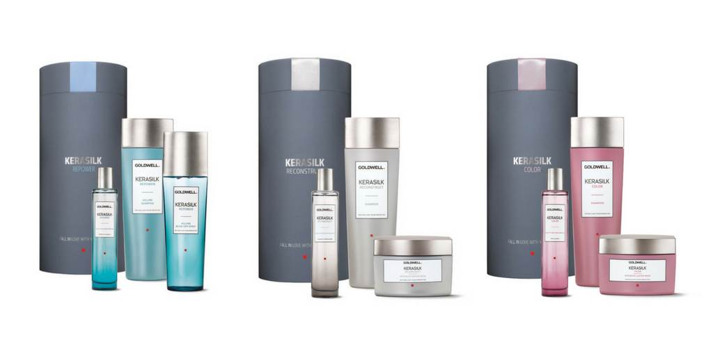 Now in: Goldwell Kerasilk Homecare Gift Sets