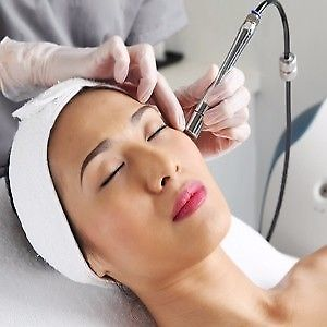 The power of a microdermabrasion facial
