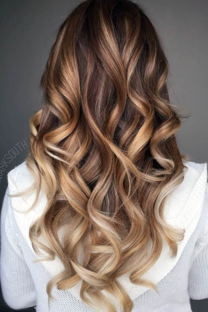 hair colouring idea bronde