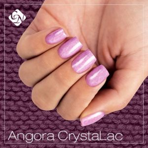 Angora nail effect close-up
