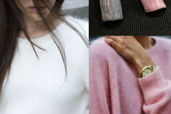 Fluffy winter jumpers & Angora nails