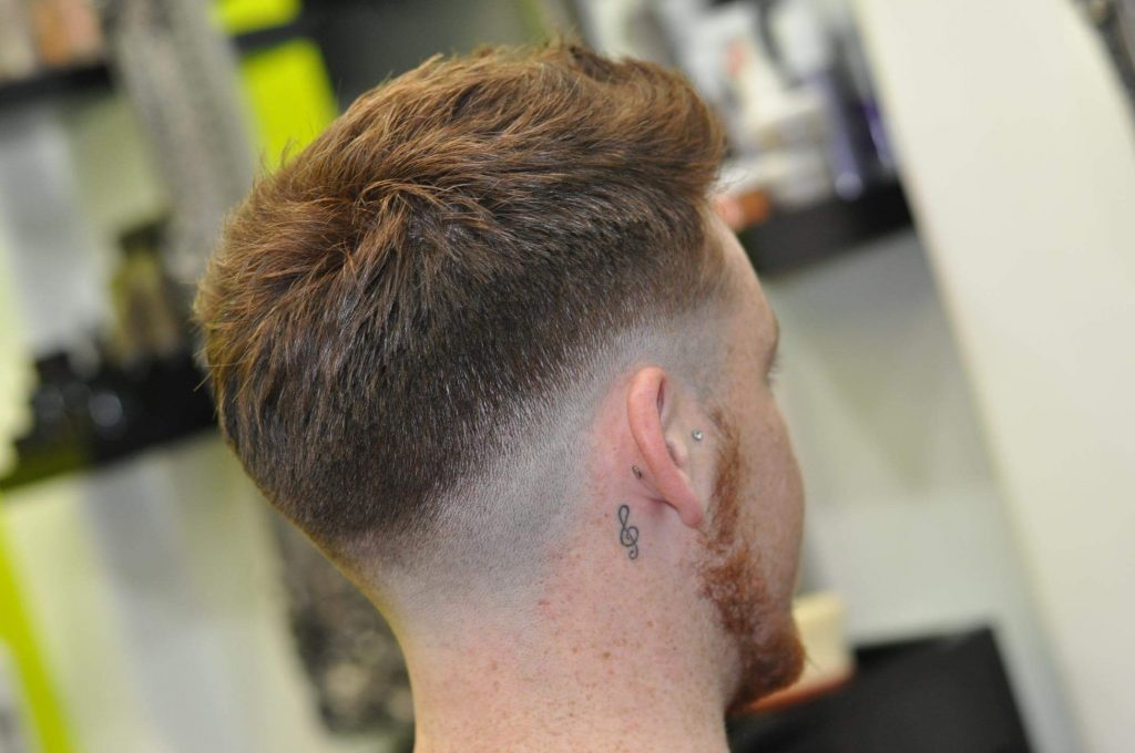 The Mid Skin Fade A Masculine Sporty Hairstyle For Gents Figaro
