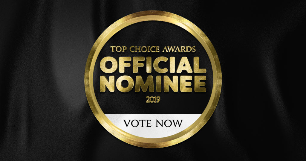 Top Choice Awards official nominee