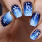 Christmas nails - Ice, ice baby
