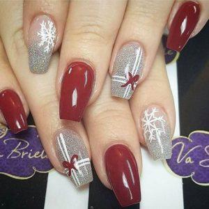 Christmas nails - Festive