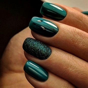 Christmas Nails The Ultimate Christmas Green Figaro London Hair