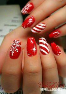 Christmas nails - Sweet motifs