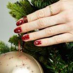 Christmas nails - Twinkle, twinkle ...