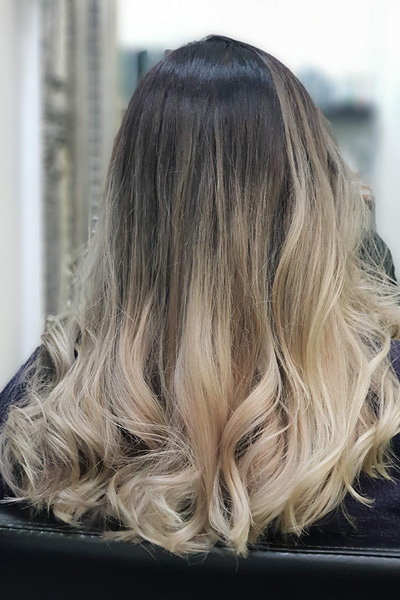 hair colouring ideas ombre