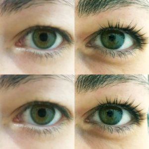 eyelash lift & tint treatment