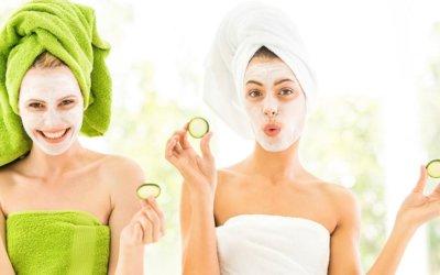 Natural homemade face masks