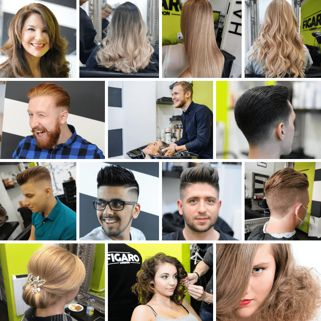 Ladies and Men's Hairstyles at Figaro London Hair & Beauty
