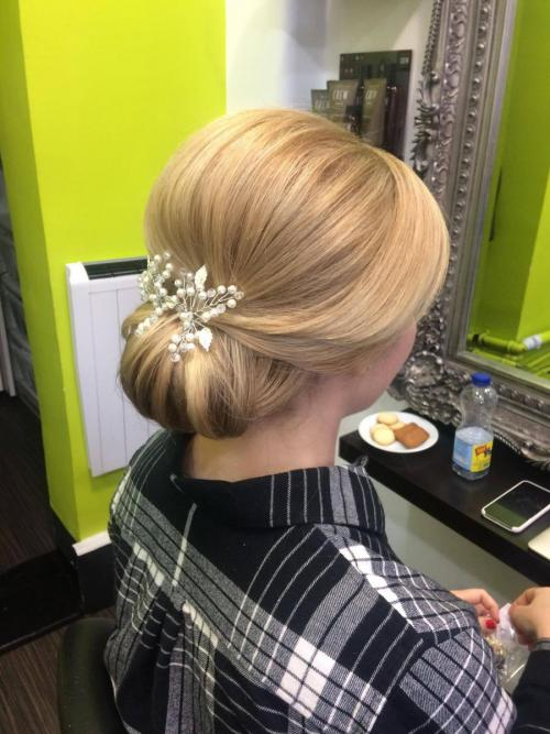 Wedding hair-up
